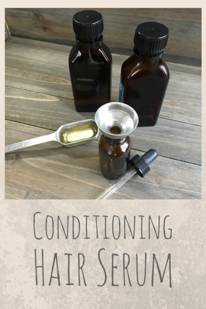 Conditioning Homemade Hair Serum